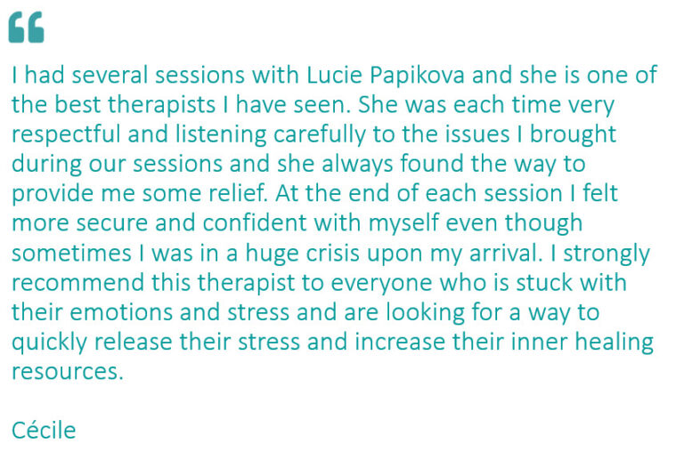 review for Lucie Papikova Kinesiologist
